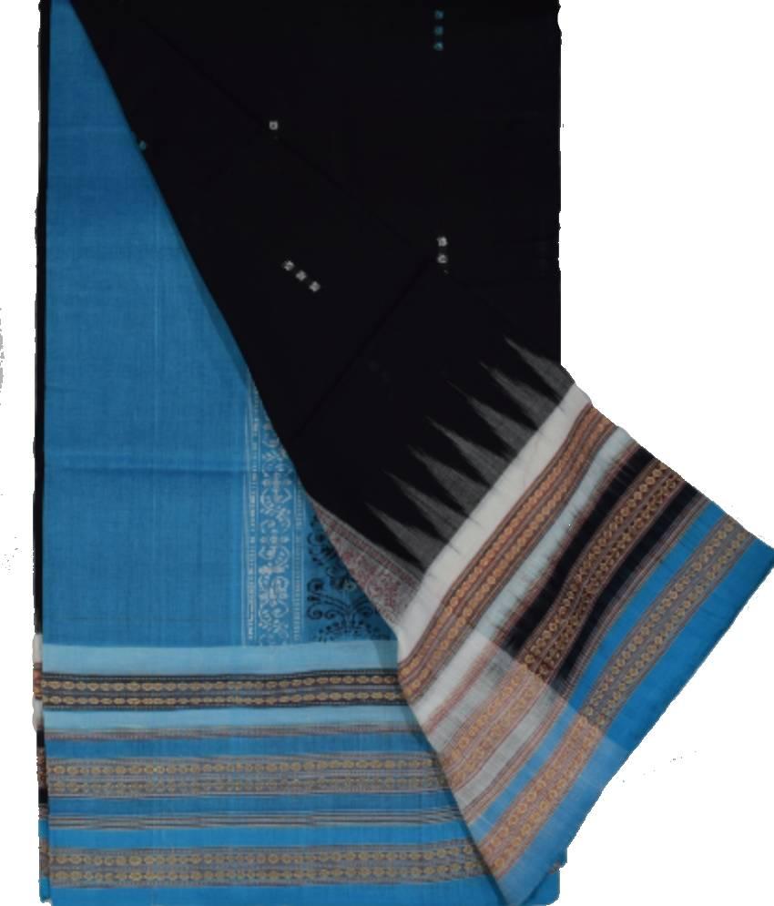 Bomkai Cotton Saree