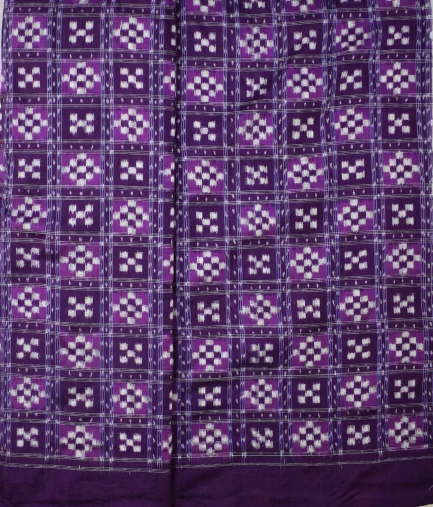Purple Pasapali Silk Fabric