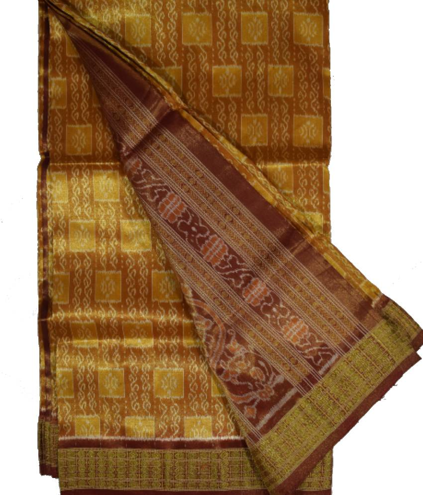 Bomkai Tissue Silk Saree