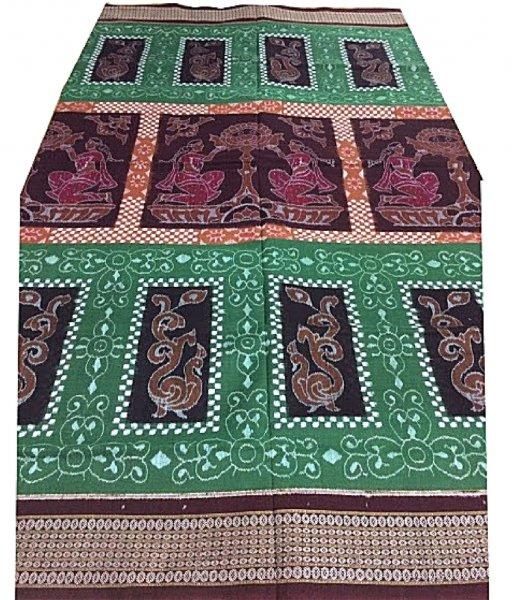 Green Sqamalpuri Cotton Saree