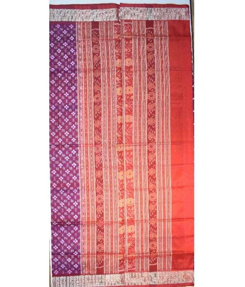 Sambalpuri Pasapali Silk Saree