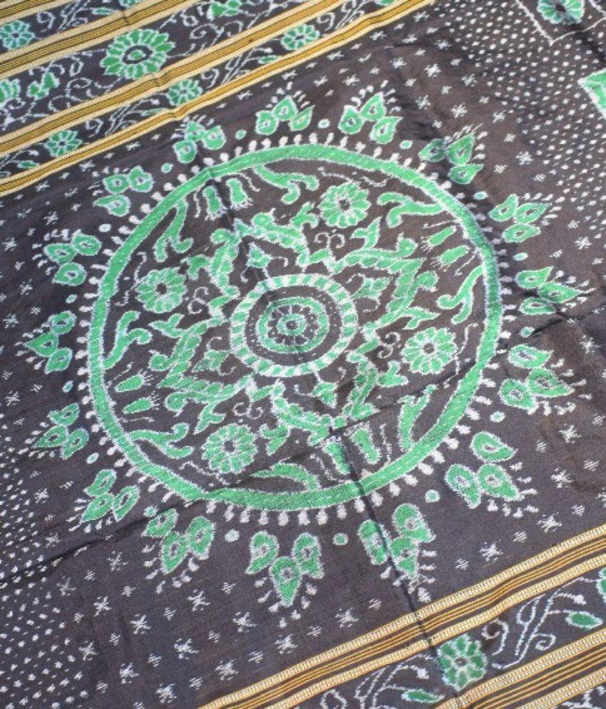Sambalpuri Bandha Silk Saree