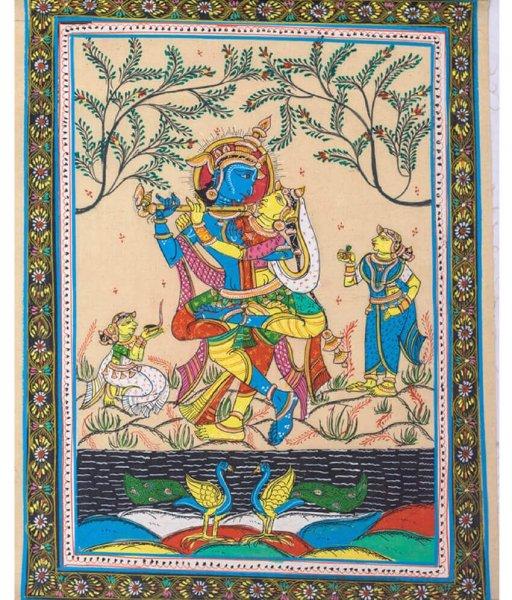 Pattachitra Radha Krishna Jugala