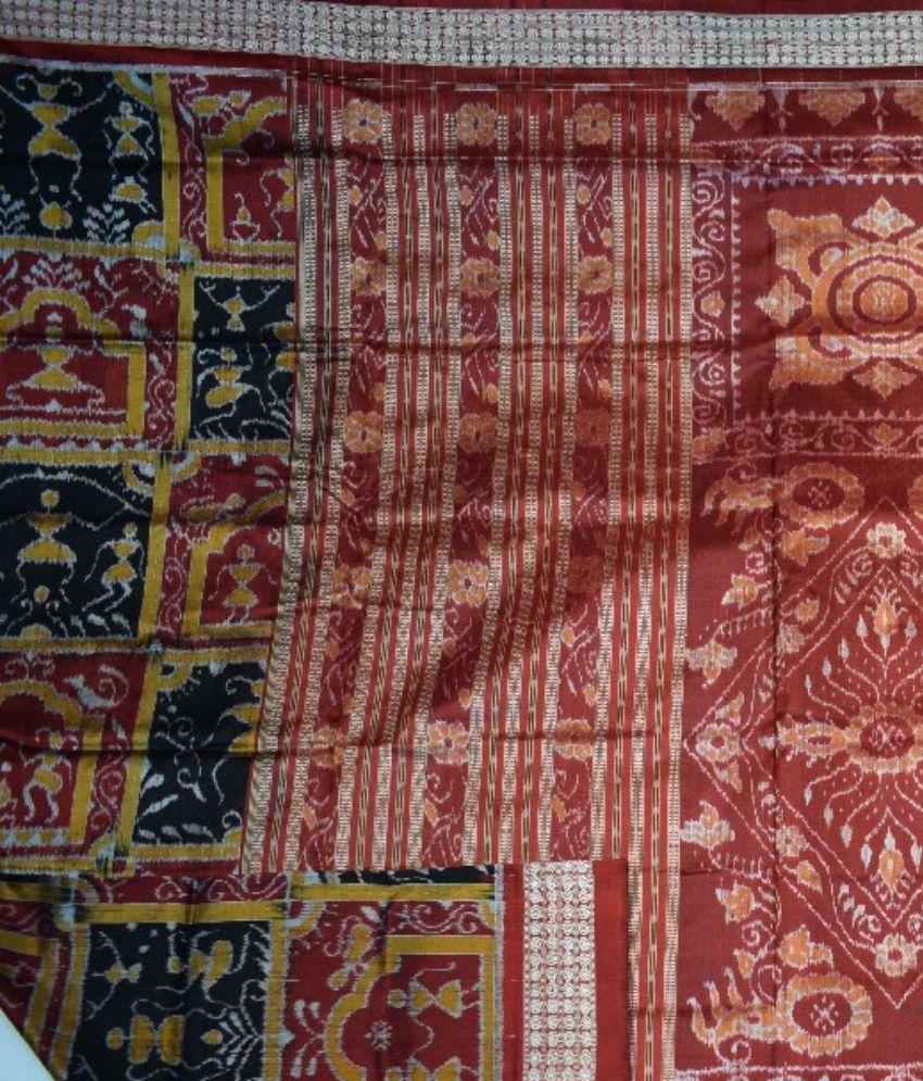 Sambalpuri Tribal Silk Saree