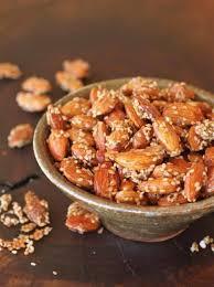 Honey Sesame Almonds 200g