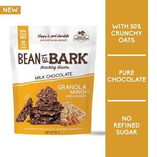 Bean to Bark milk chocolate 110g