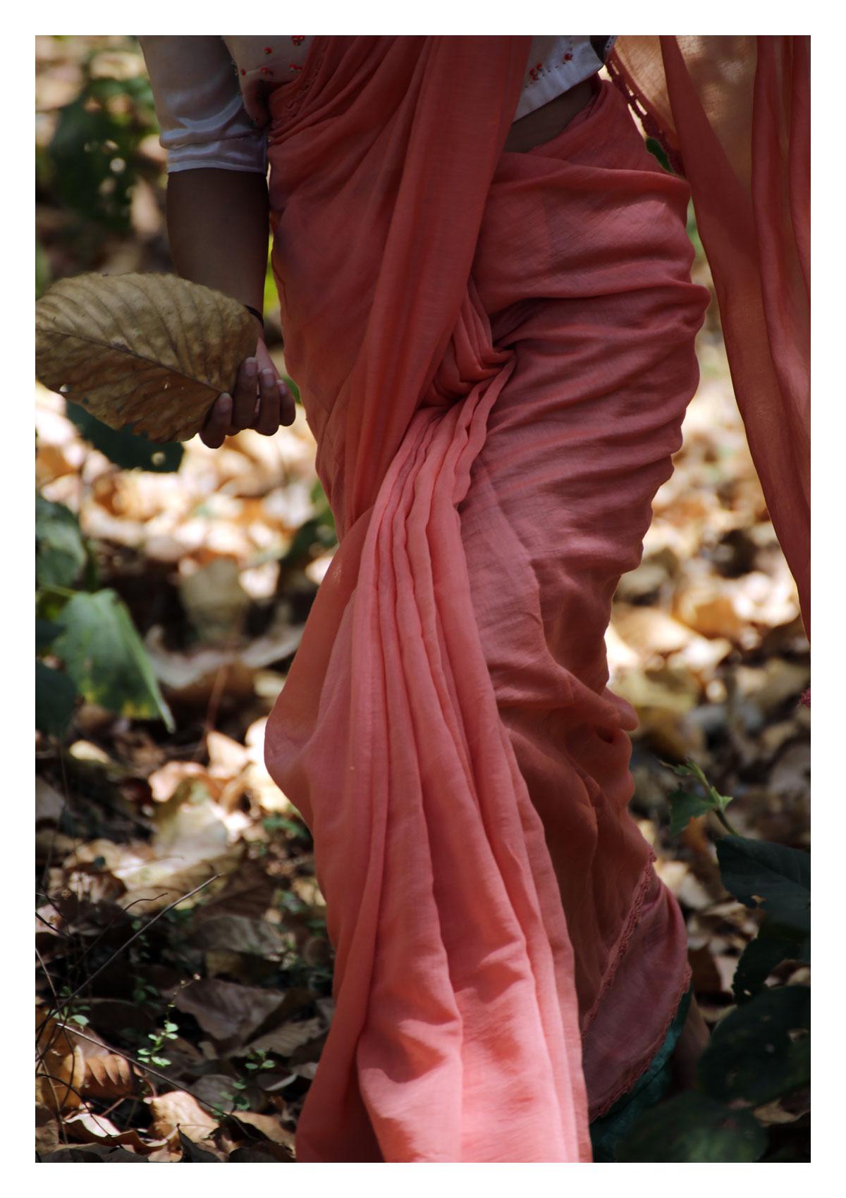 Whistling Woods Chanderi Saree