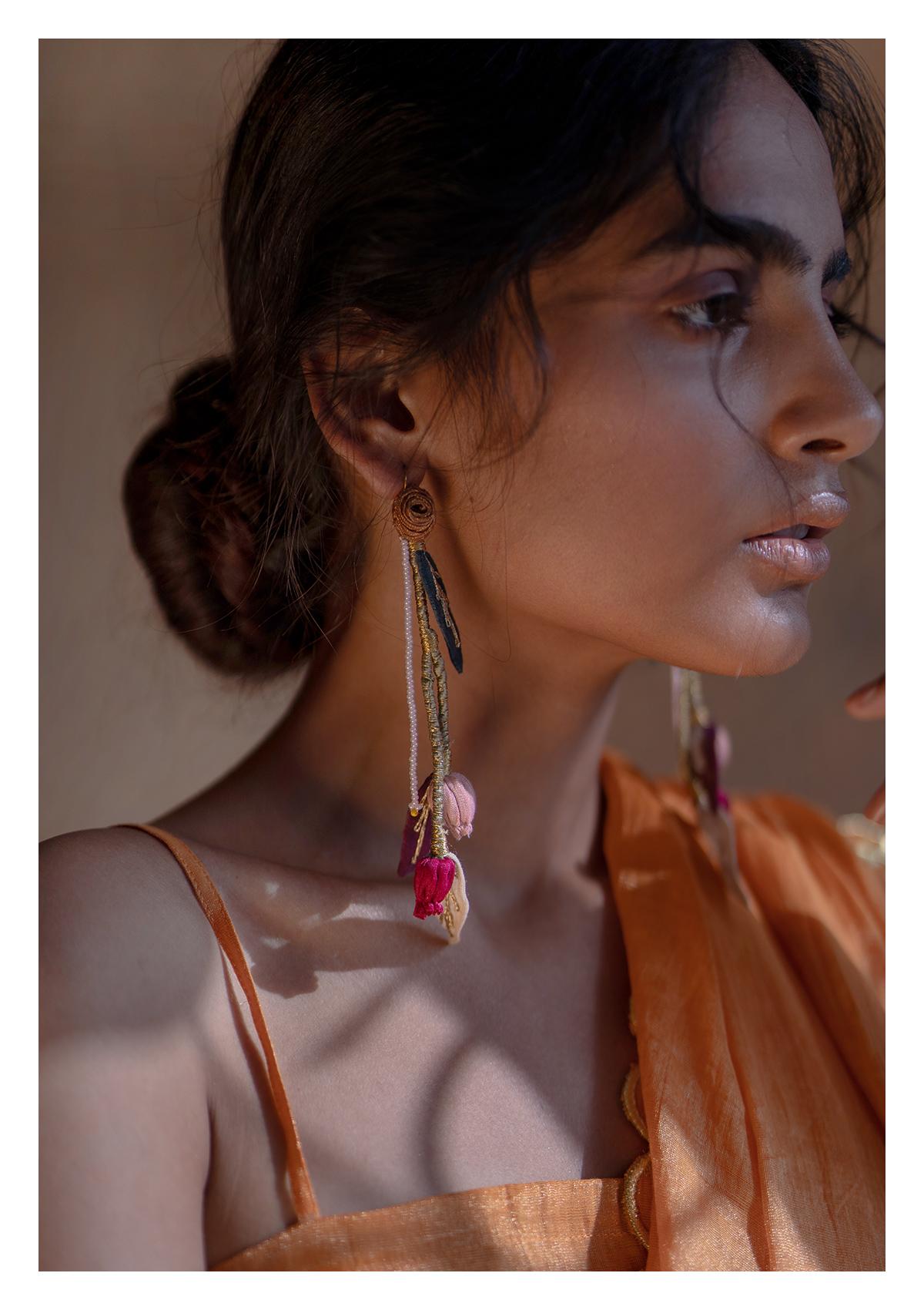 Bael Textile Earrings
