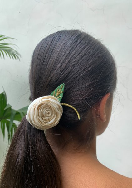 Feel Good Floral Rubber Band