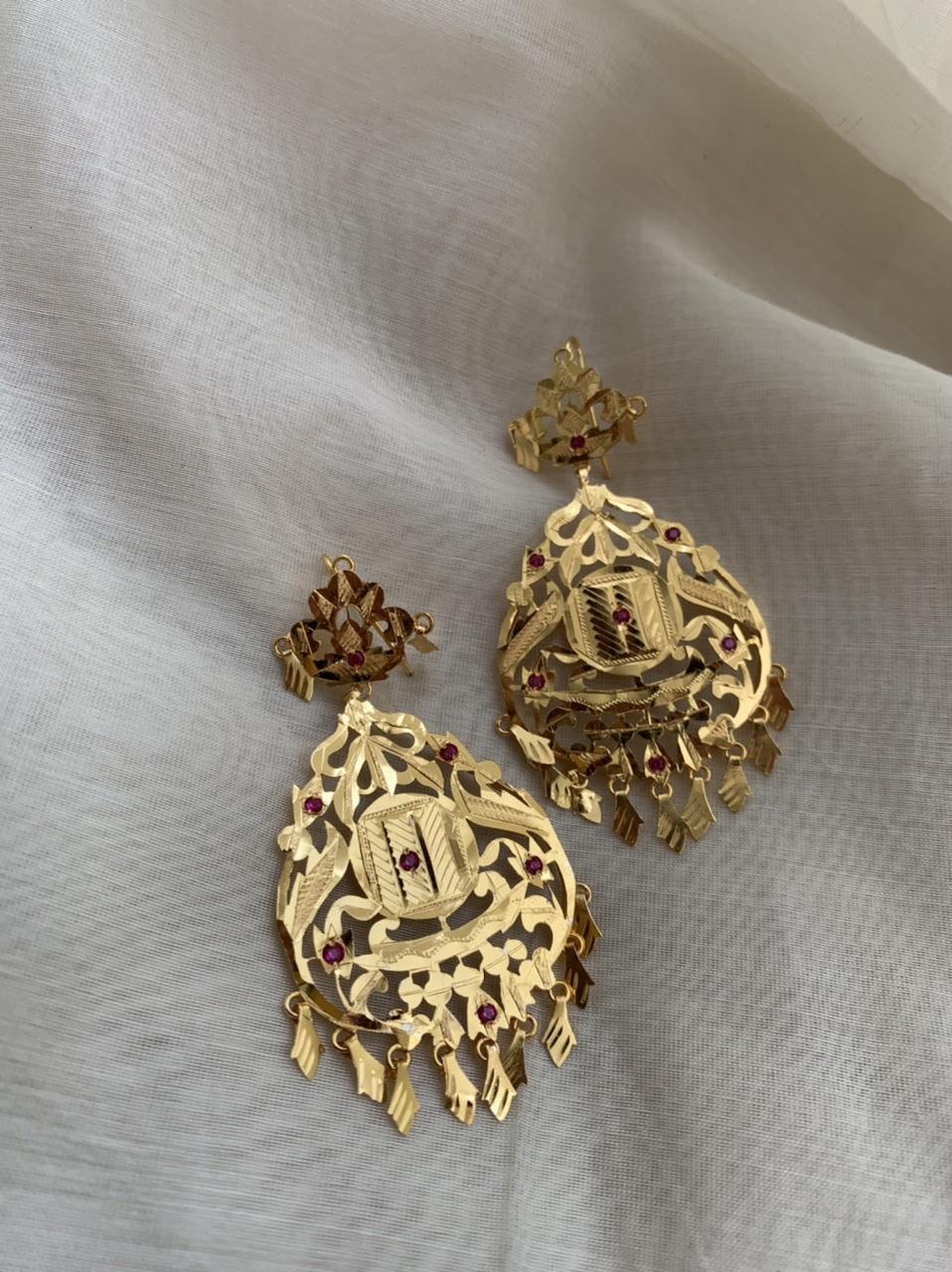Rekha Silver Earrings