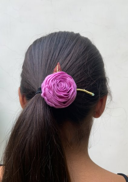 Yours Truly Floral Rubber Band