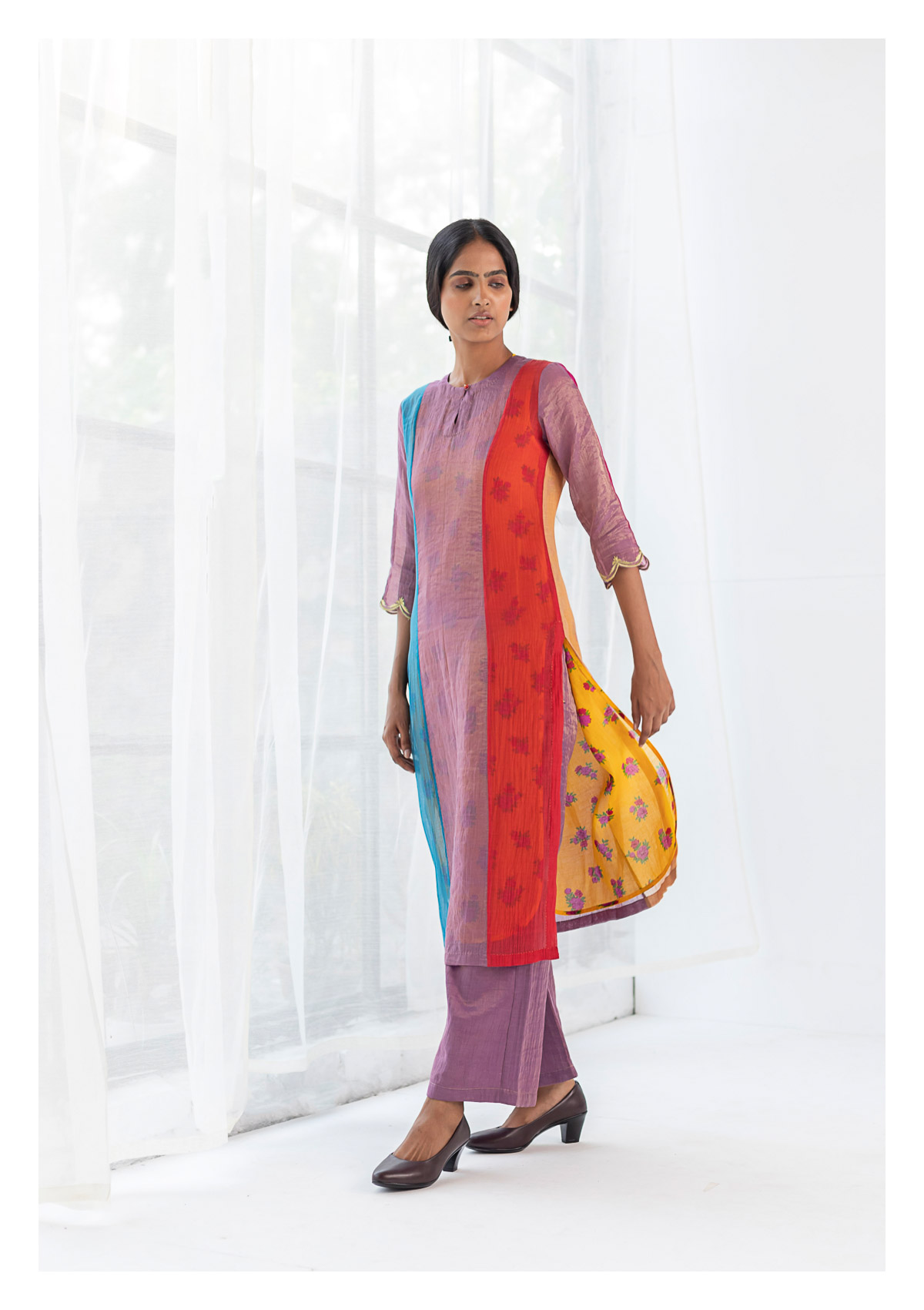 Avita Multicolored Kurta & Pant Set