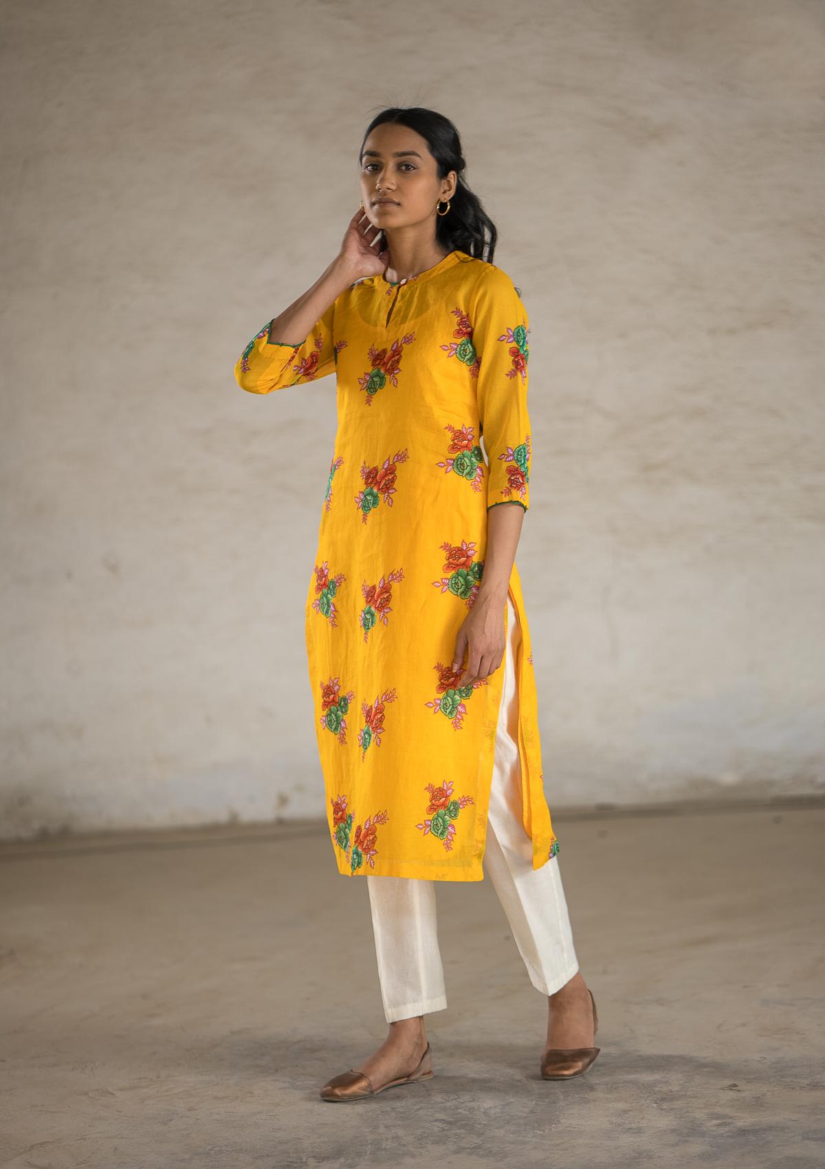 Sonder Yellow Cotton Co-ord