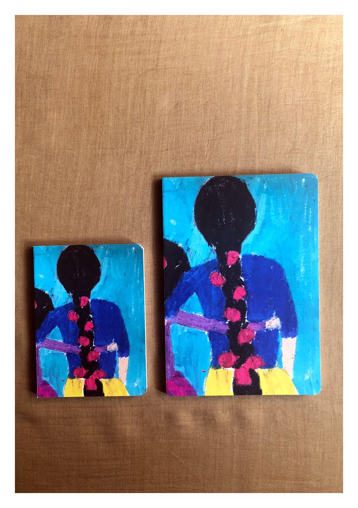 Flowergirls Notebook - Set of 2