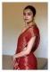 Abho Rust Tissue Chanderi Saree