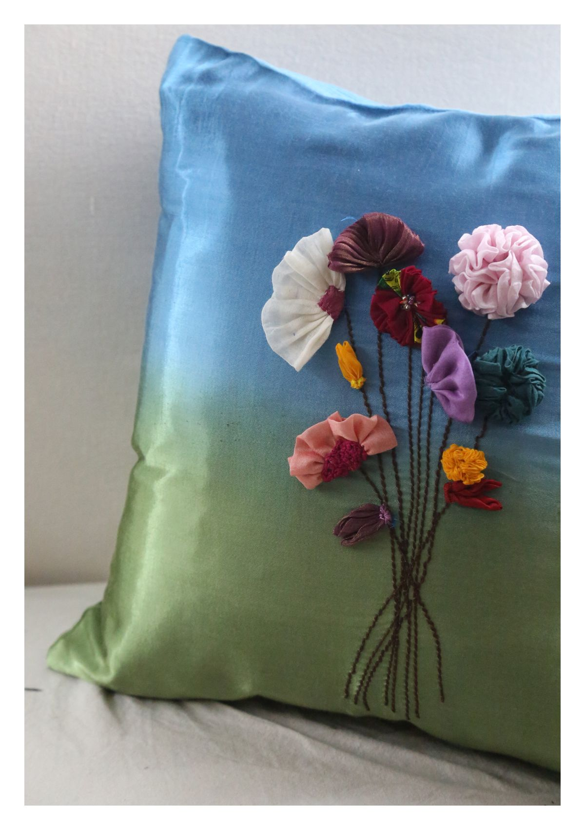 Revya Silk Cushion
