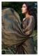 Midnight Charcoal Tissue Chanderi Saree