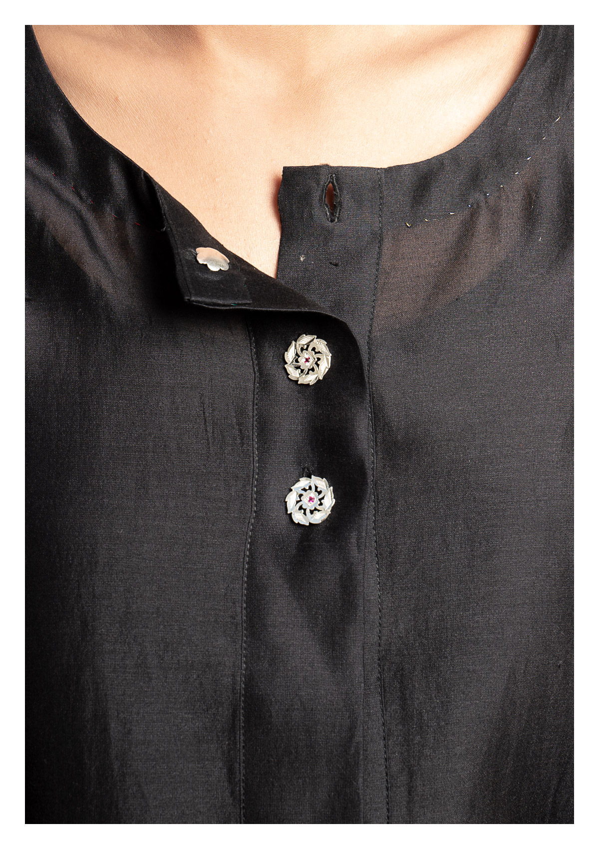 Chellam Silver Buttons