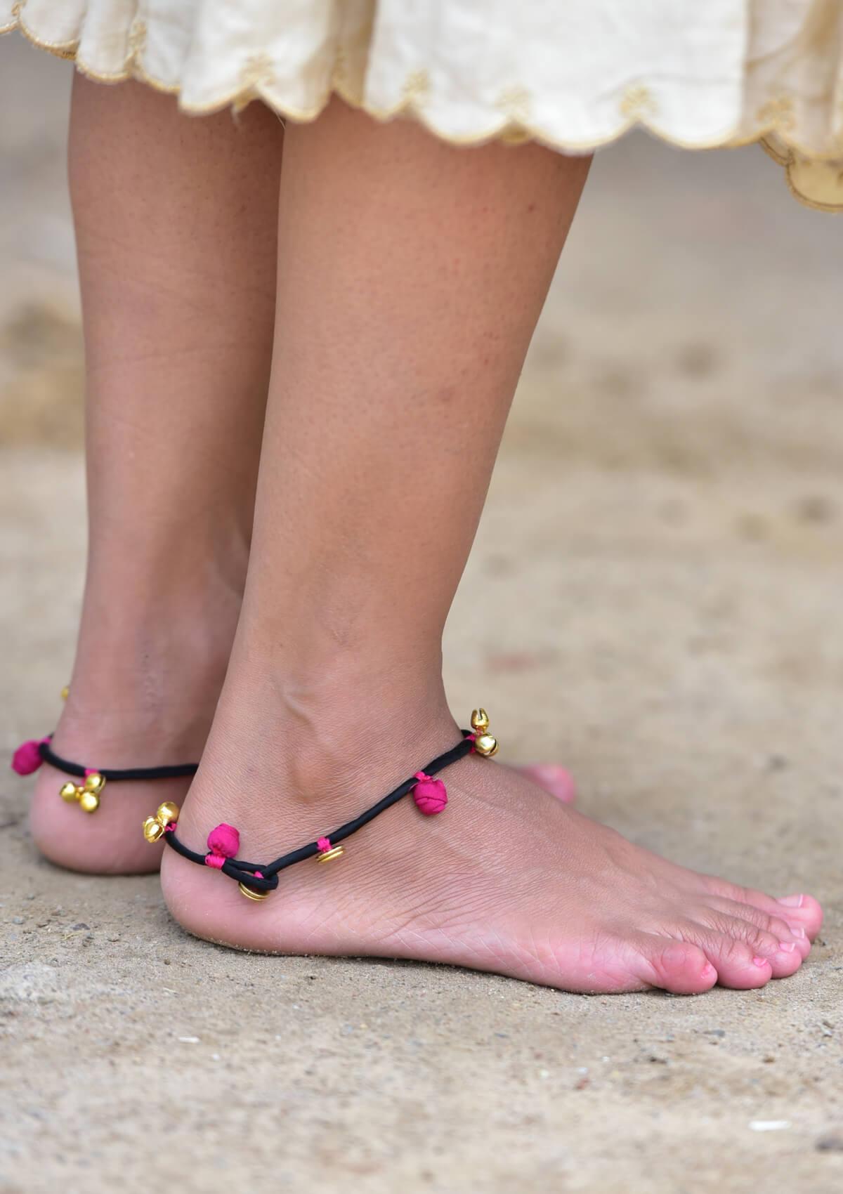 Chitralekha Handmade Anklet
