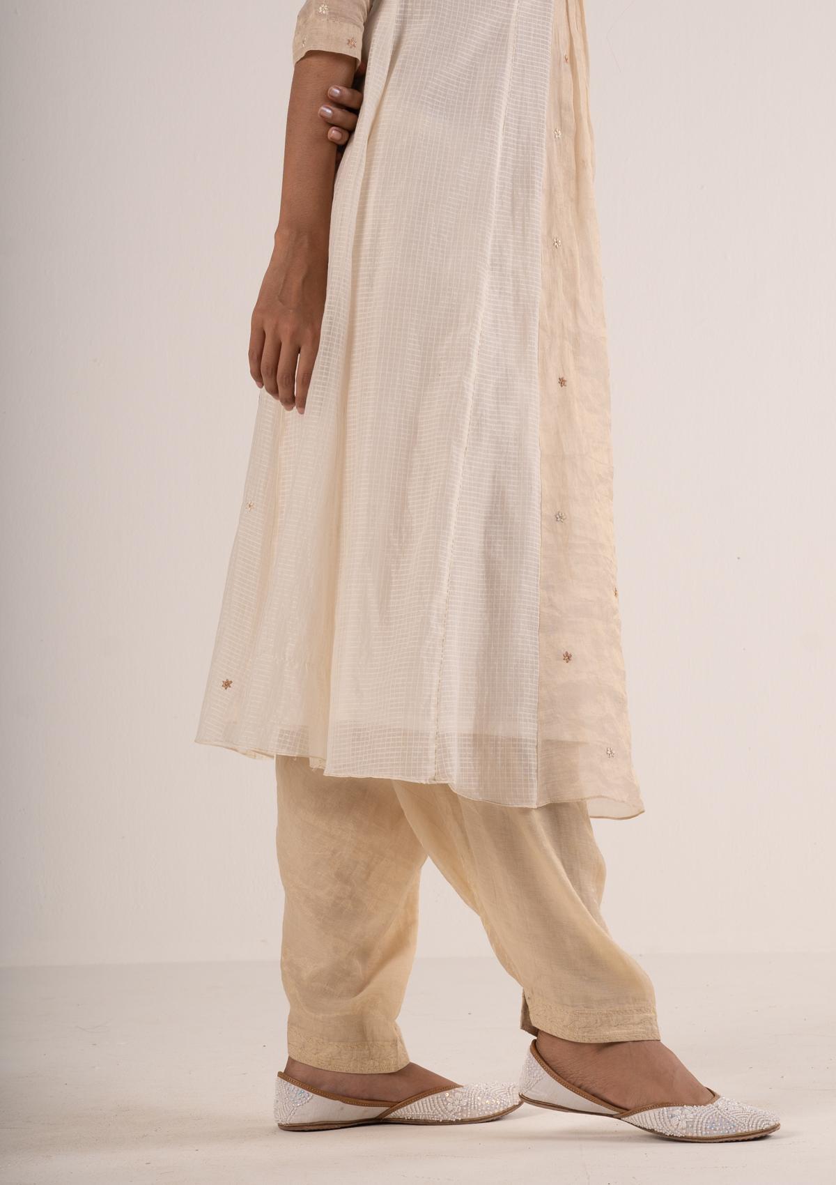 Rahi Ivory Kurta Salwar Set