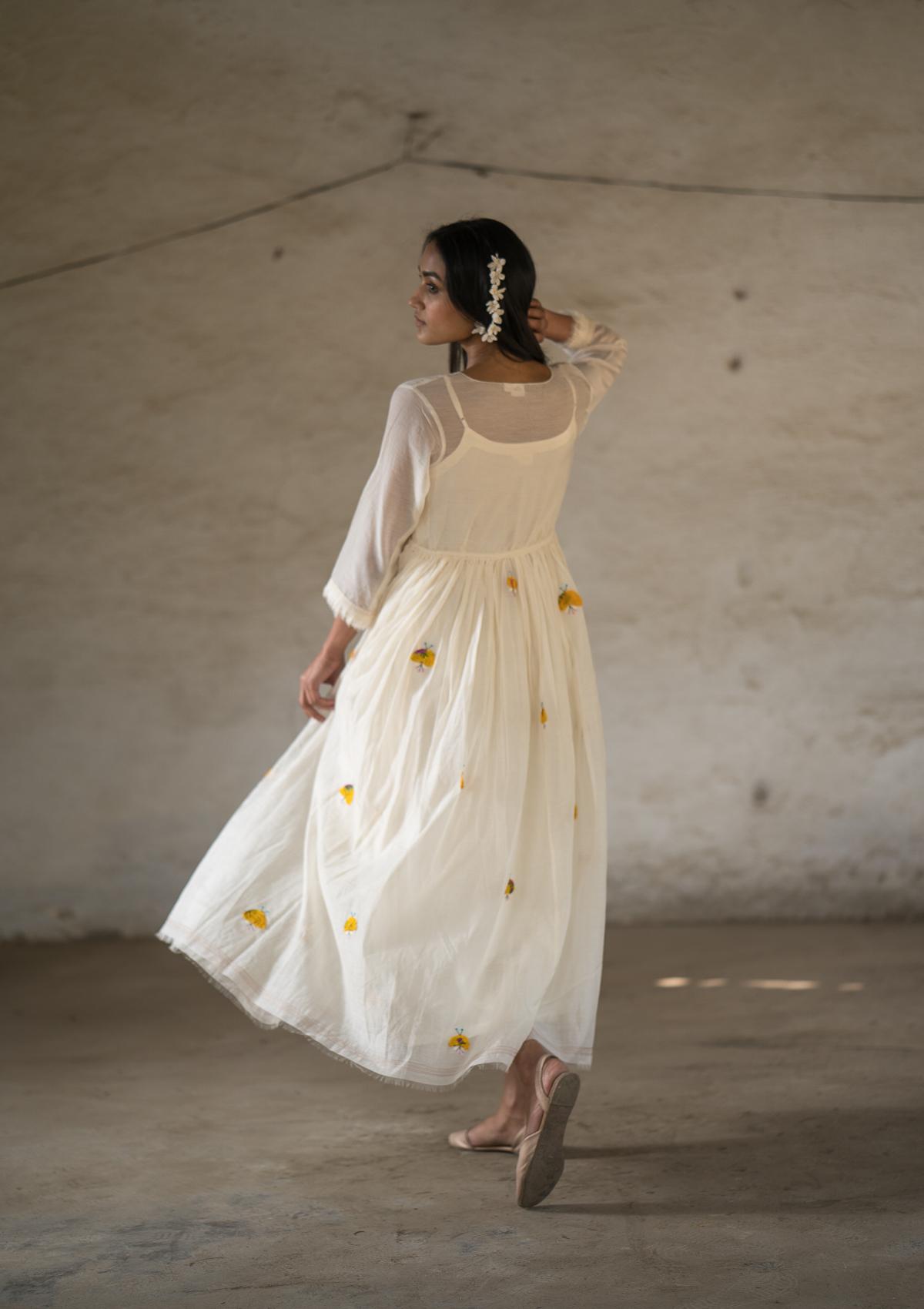 Dhoom Machati Chanderi Dress