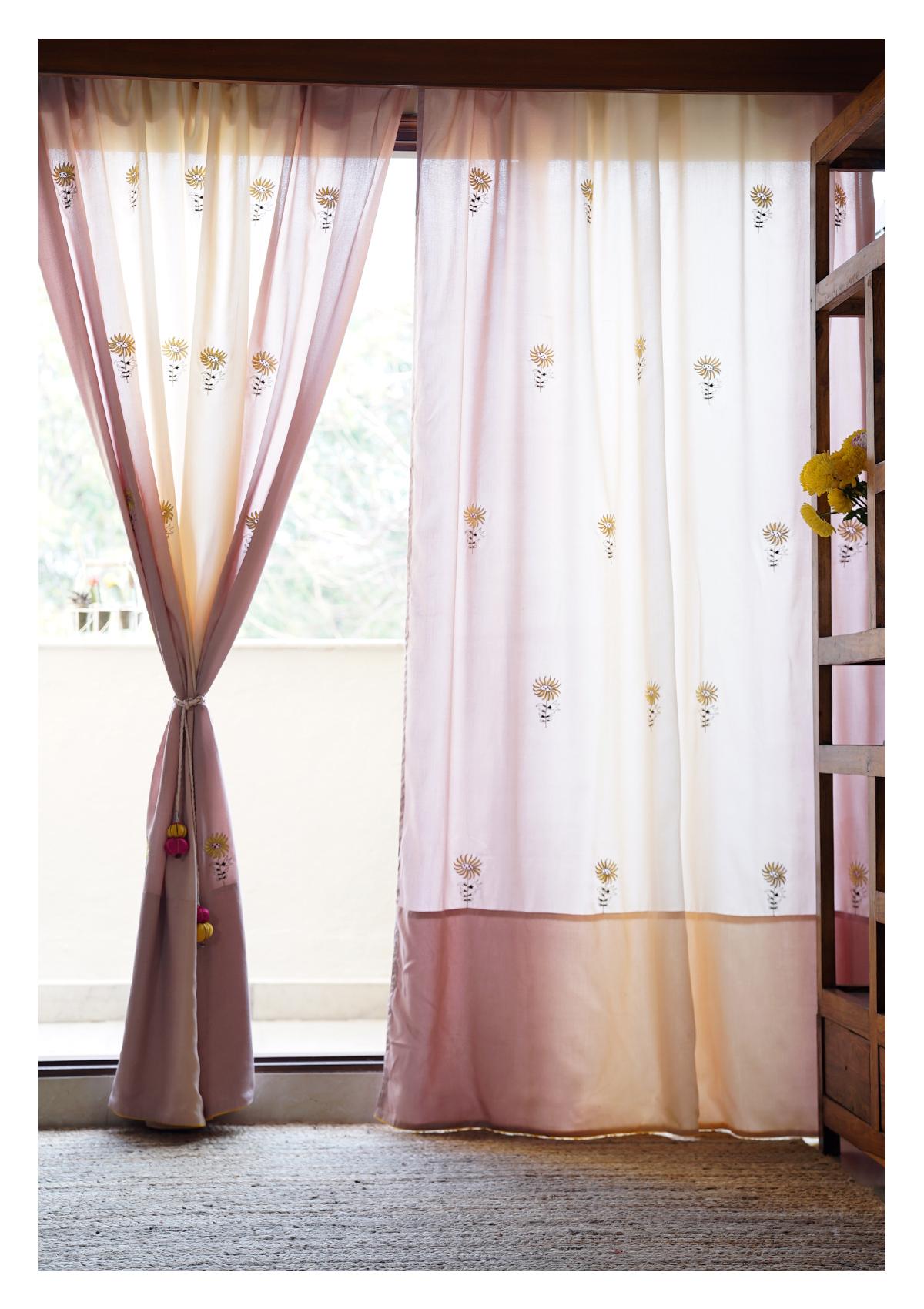 Pacino Ombre Cotton Curtain