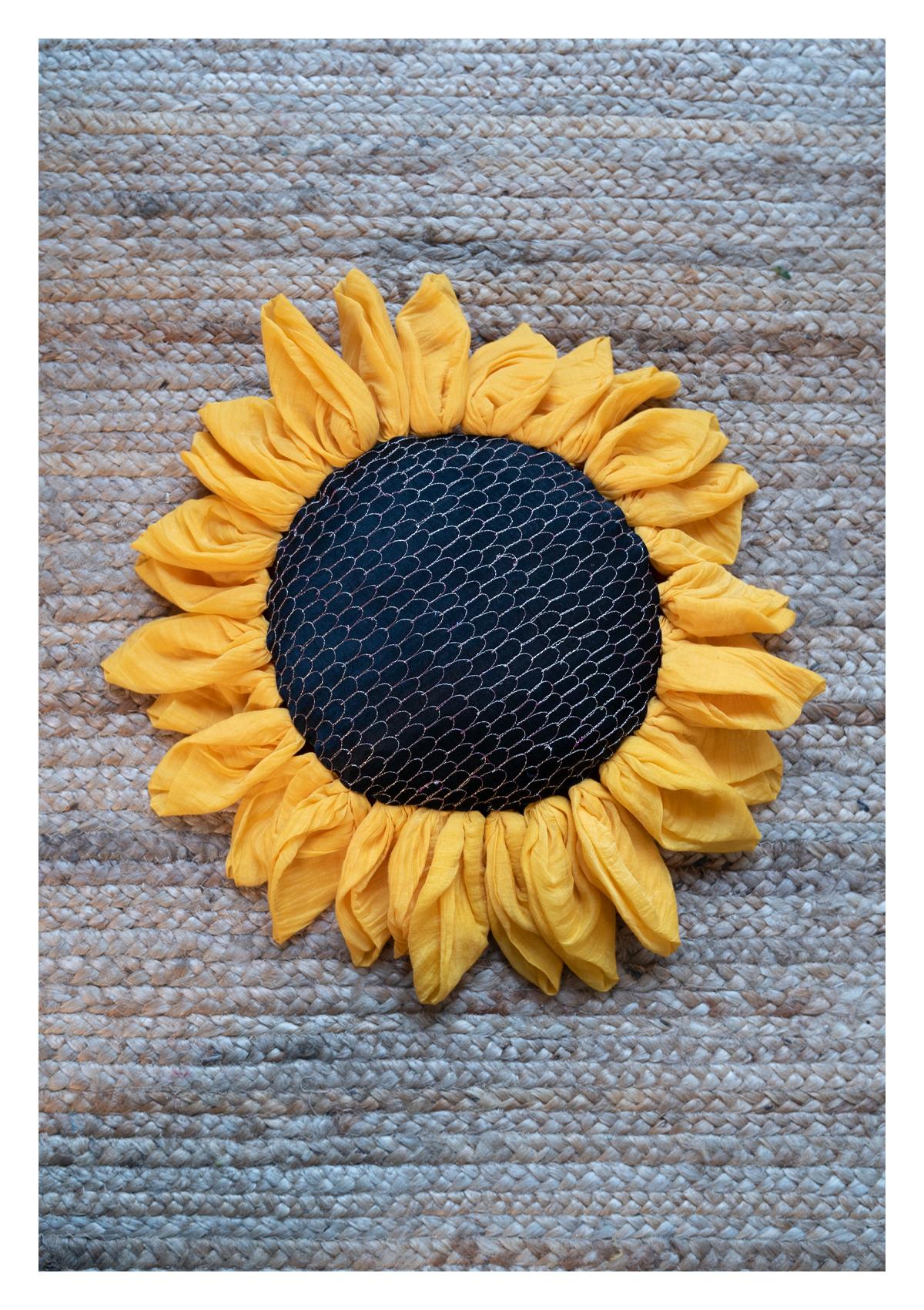 Malone Sunflower Cushion