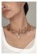 Fadila Gold Tone Silver Necklace