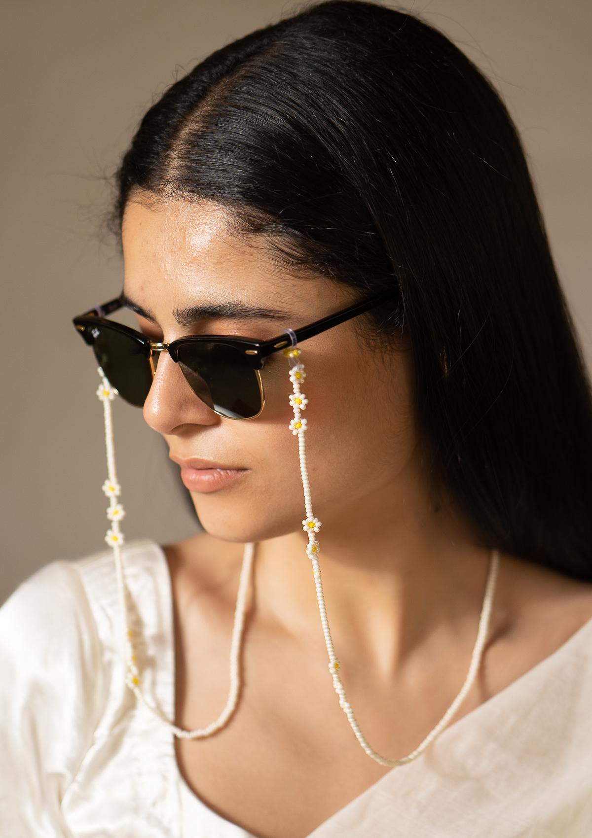 Flute Bead Eyewear Chain