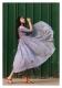 Rooftop Garden Grey Chanderi Dress