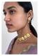 Gulband Pearl Gold tone Silver Choker Necklace Set