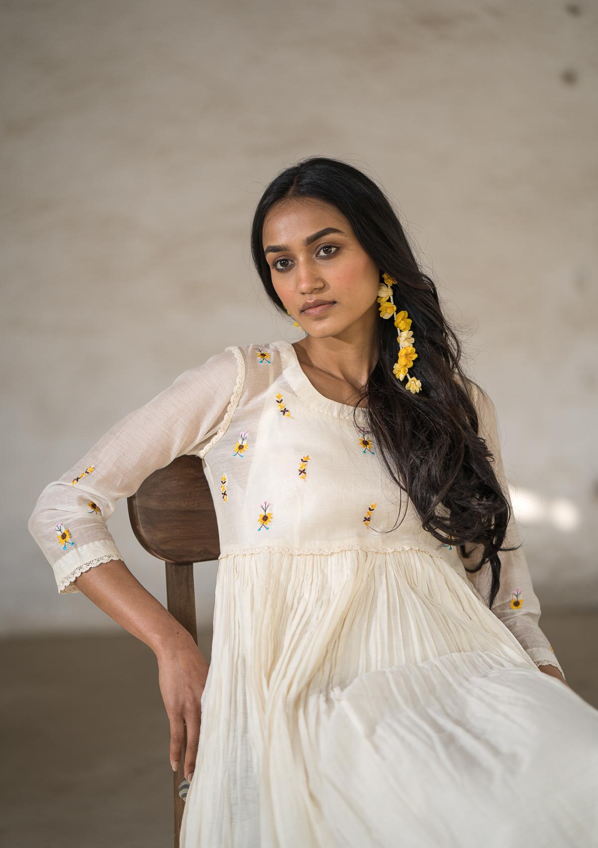 Gungunati Chanderi Dress