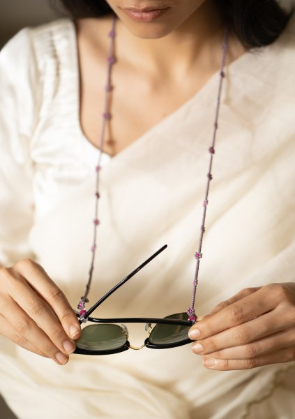 Harp Bead Eyewear Chain