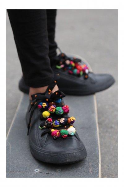Hip-Hop Handmade Shoe Laces