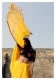 Jamuna Yellow Cotton Saree