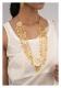 Jaseena Gold Tone Silver Ranihaar