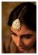 Morni Handmade Gold tone Silver Mangtikka
