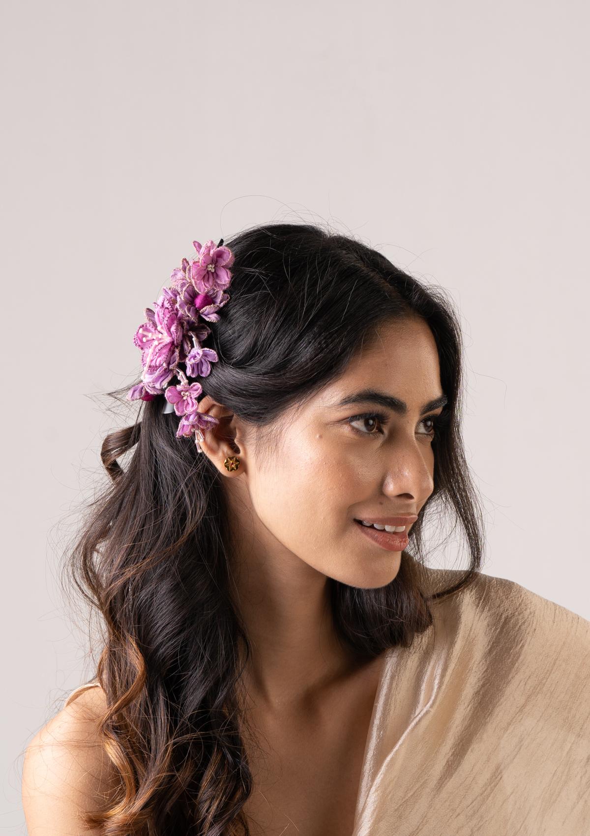 Katayu Floral Claw Clip