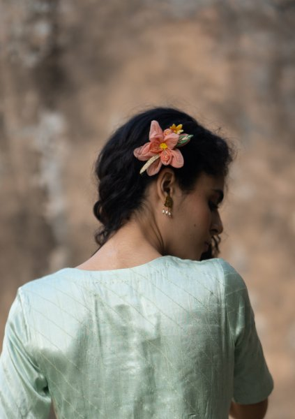 Melodica Floral Claw Clip