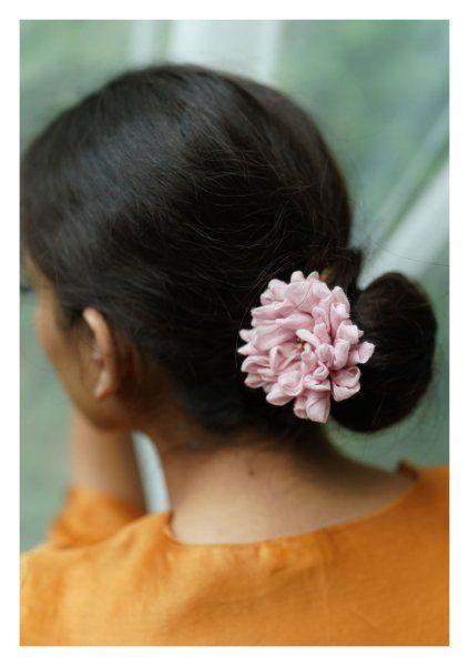 Malva Pink Flower Accessory