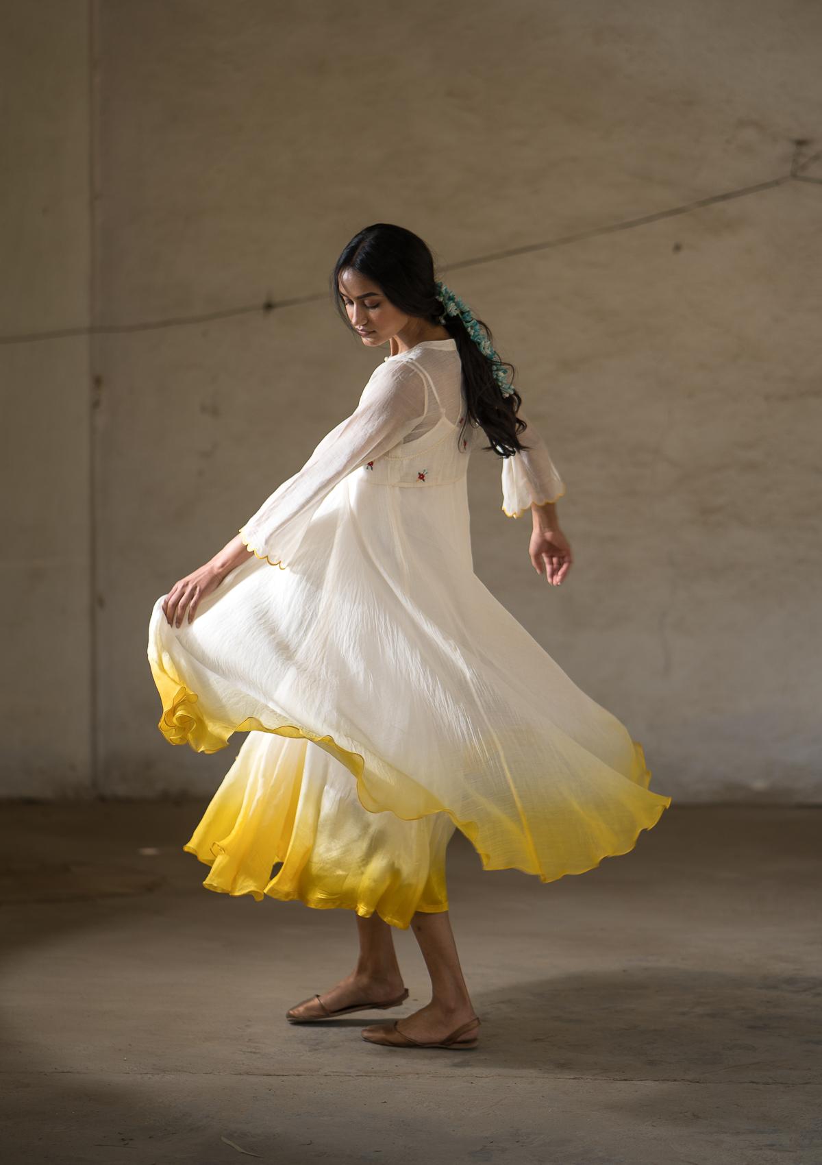 Mann Malchati Chanderi Dress
