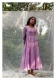 Maulsari Lavender Chanderi Dress