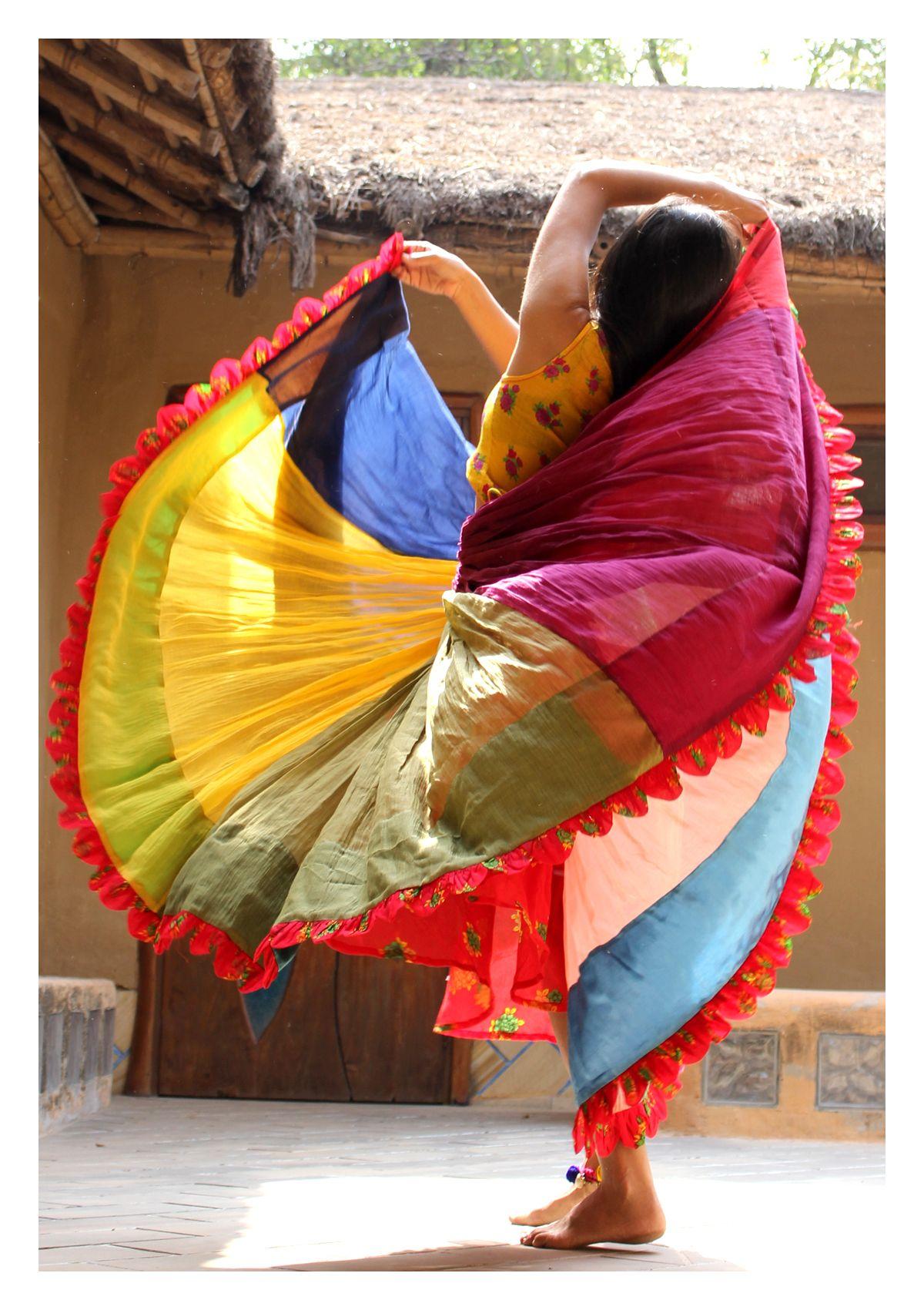 Mast Multicolor Ghagra Skirt