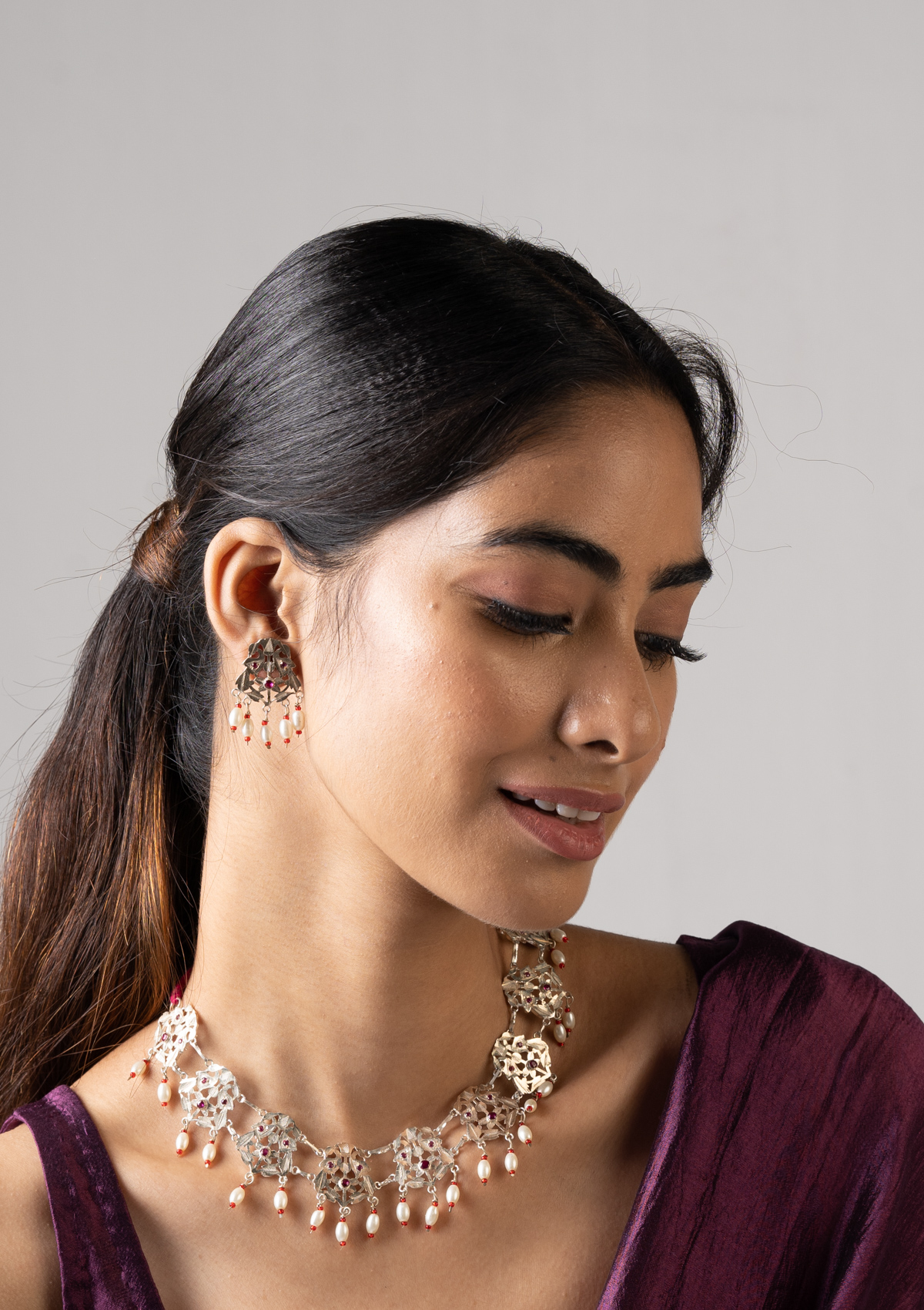 Tulwa Silver Necklace