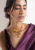 Shabo Gold Tone Silver Necklace