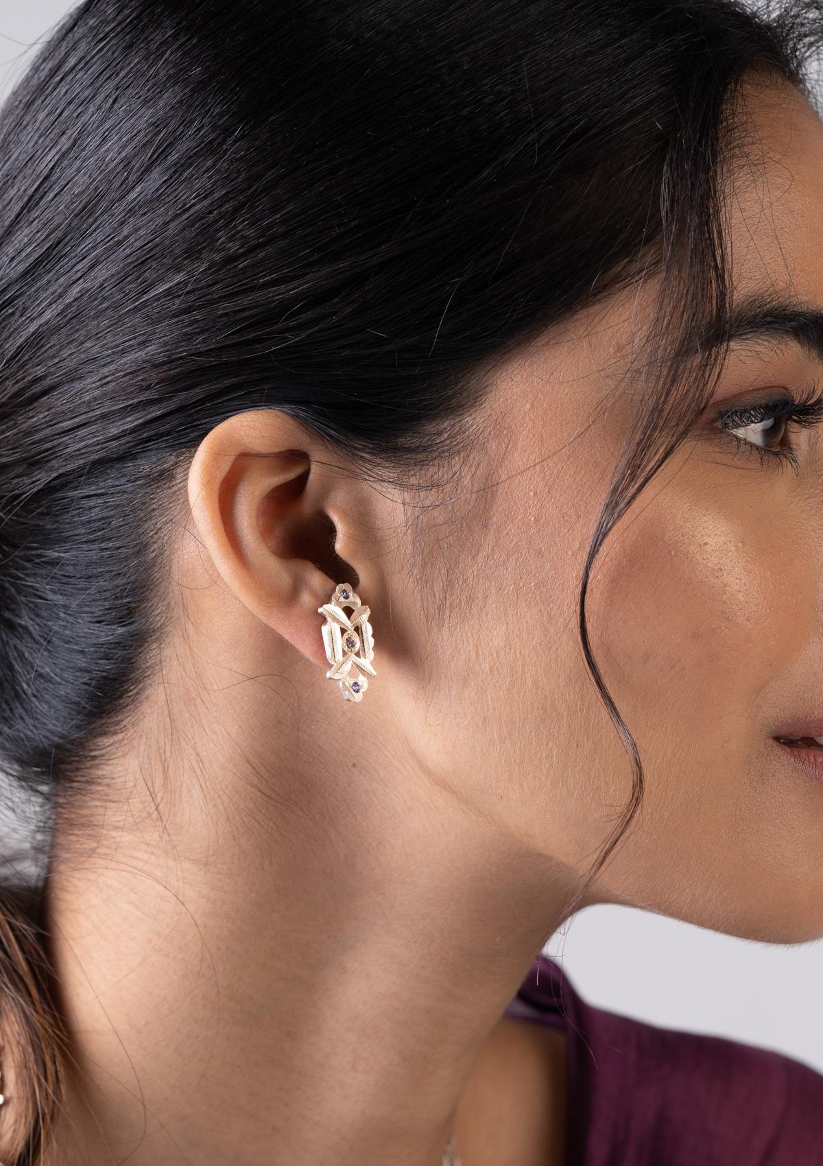 Chuni Silver Earrings