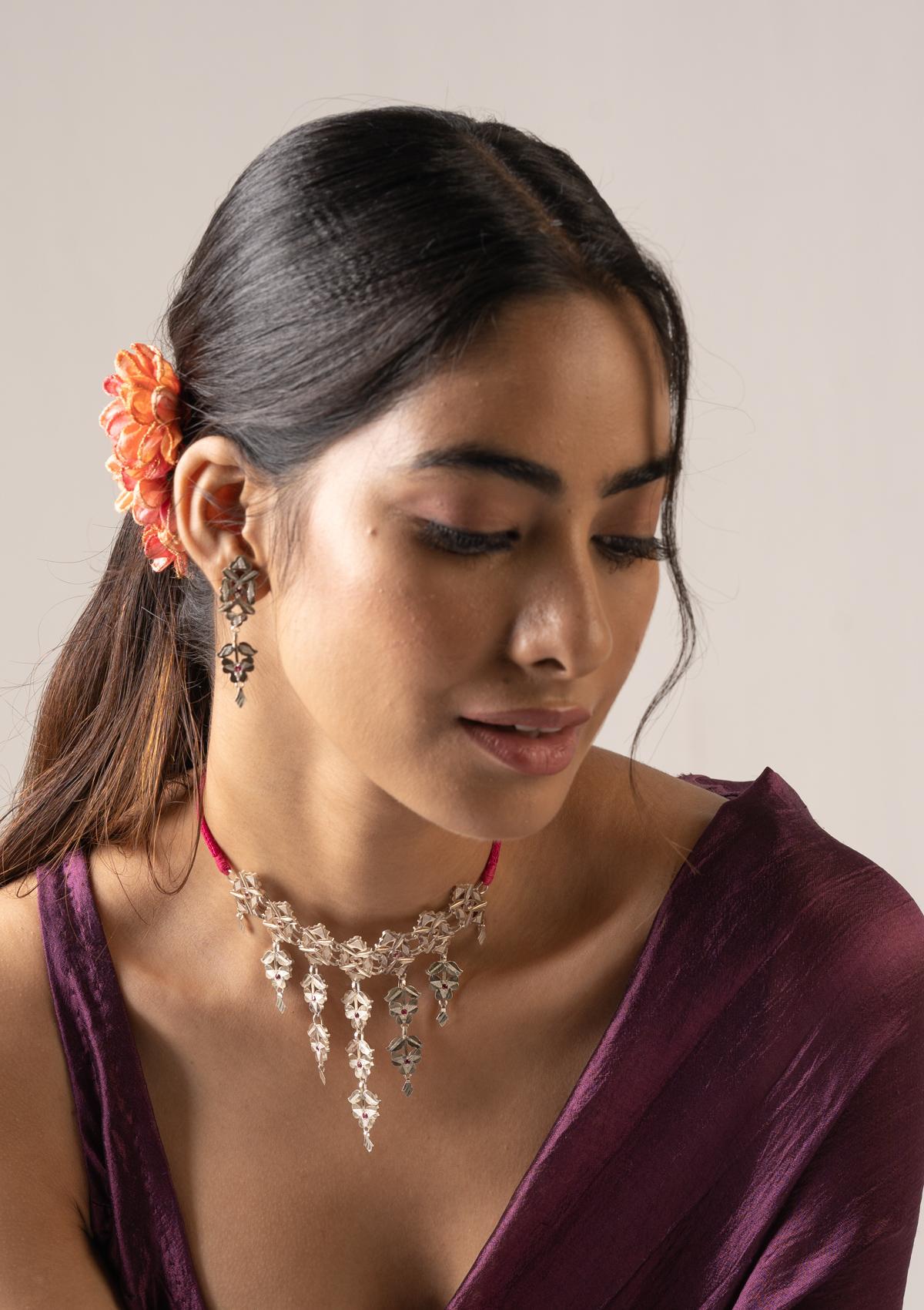 Birva Silver Earrings