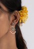 Jheel Silver Earring
