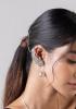 Maheen Silver Earrings