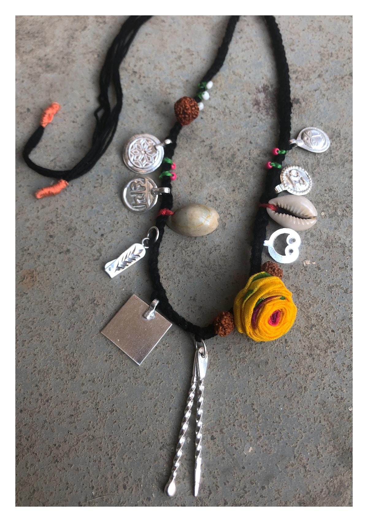 Nazarband Handmade Silver Necklace